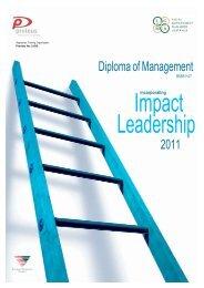 Diploma of Management 2011 - LGMA (SA)