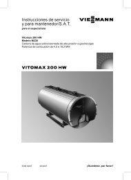 Datos técnicos Vitomax 200-HW M238910 KB - Viessmann