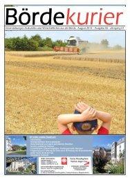 Ausgabe 06 - Jahrgang 01 - Bördekurier