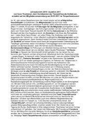 Jahresbericht 1997 des Vorsitzenden der Tierparkfreunde Hellabrunn