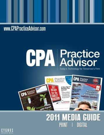 2011 Media guide - Cygnus Business Media