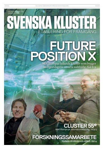 Forskningssamarbete Cluster 55° - IDG