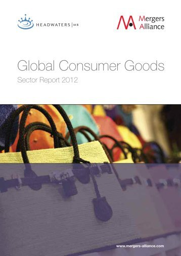 Global Consumer Goods M&A Report.pdf - Mergers Alliance