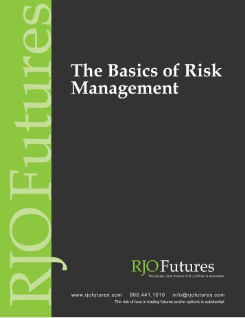 The Basics of Risk Management - MoneyShow.com