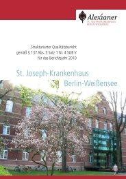 St. Joseph-Krankenhaus Berlin-Weißensee - Krankenhaussuche