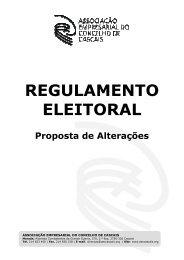 regulamento eleitoral - Associação Empresarial do Concelho de ...