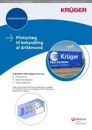 Krügers pilotanlæg er en container med et fleksibelt ... - Krüger A/S