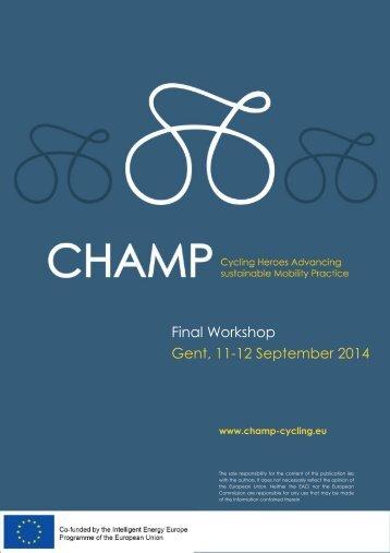 CHAMP_Final_Workshop_Updated programme