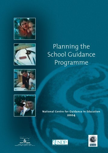 Planning the School Guidance Programme - National Centre for ...