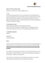 14.01.2013 - Referat af KKS bestyrelsesmøde