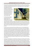 Lighting Design Research in Public Space - Designfakulteten - Page 5