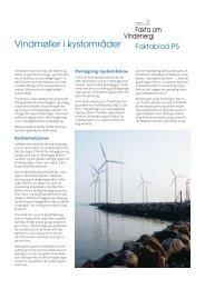 P5 Vindmøller i kystområder - Danmarks Vindmølleforening