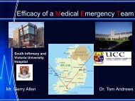 An investigation into the effectiveness of introducing a Medical ...