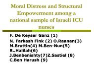 Session 23.6 Moral Distress and structural empowerment among a ...