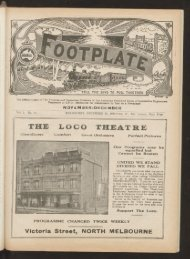 The Footplate: vol. 9, no. 11 (November-December, 1926)