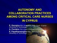 Session 18.4 Autonomy and cooperation practices among critical ...