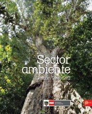 Título: Sector ambiente: Gestión 2008- 2011 - CDAM - Ministerio del ...