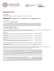 Form I-20 - Johnson Graduate School of Management - Cornell ...