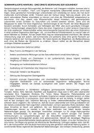 Die Gefahren von genmanipulierter Nahrung - Wiesenfelder.de