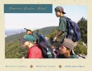 BSA Annual Report - Minsi Trails