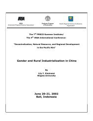 Gender and Rural Industrialization in China June 20-21, 2002 ... - nifty