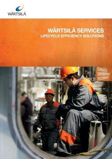 Services Brochure - Wärtsilä