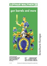 gun barrels and more brochure Europe