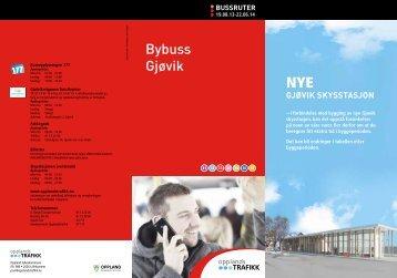 Bybuss Gjøvik - Oppland fylkeskommune