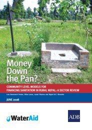 Community-level models for financing sanitation in rural ... - WaterAid