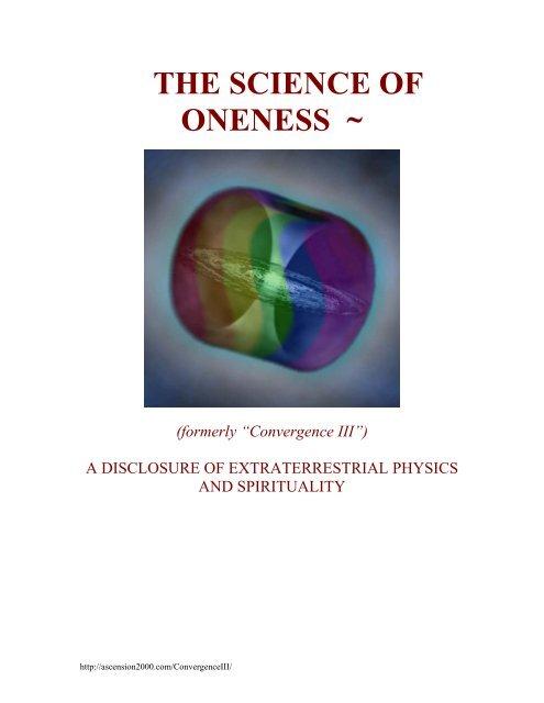 Science Of Oneness Pdf Sandrelli Net