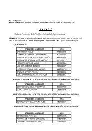 10ª Lista Definitiva - Ayuntamiento de Utrera