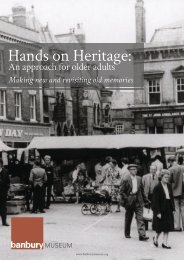 Hands on Heritage-Case Studies of Museum and Heritage projects for Older Audiences