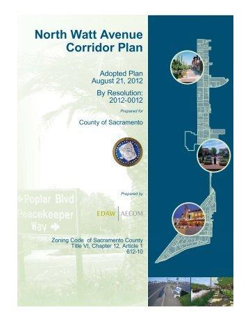 North Watt Avenue Corridor Plan - Planning and Environmental ...