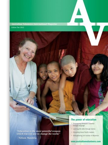 Australian Volunteers International Magazine - APJC | Asia Pacific ...