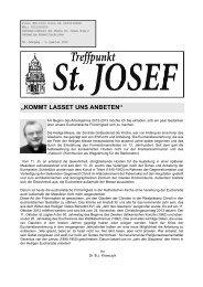 """""""KOMMT LASSET UNS ANBETEN"""" - 2., Pfarre St. Leopold"""