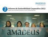 Informe de Sostenibilidad Corporativa 2012