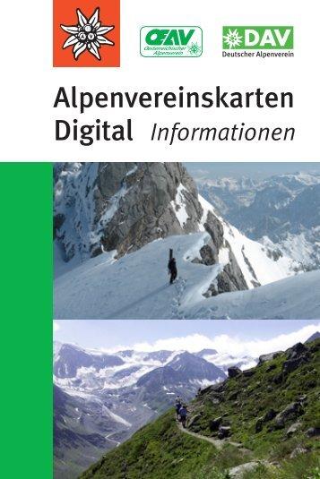Alpenvereinskarten - DAV-Shop