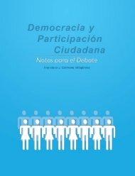 Democracia y Participación Ciudadana - Tribunal Electoral del ...