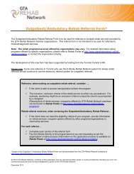 Outpatient/Ambulatory Rehab Referral Form - the University Health ...