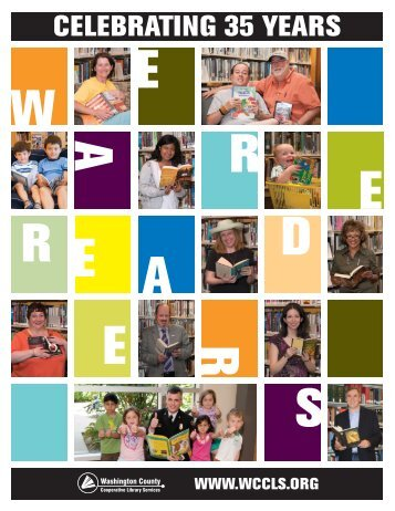 WCCLS Annual Report for FY 10-11 - Washington County ...