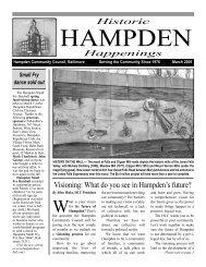 March 2005 (pdf) - Hampden Community Council