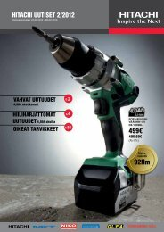 KONE - Hitachi Power Tools Finland Oy