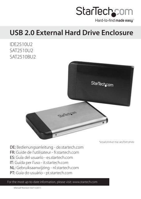 USB 2.0 External Hard Drive Enclosure - Xpress Platforms