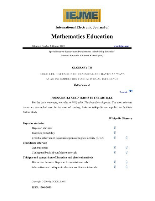 glossary of mathematics wikipedia tips and tricks about