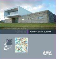 ADvAnce OffIce BuIlDIng - IDA Ireland