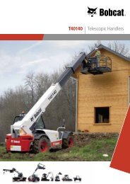 T40140 Telescopic Specifications - Bobcat.eu
