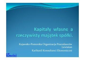 Otwórz prezentację - Karstans