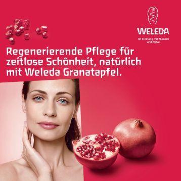 Regenerierende Pflege für zeitlose Schönheit, natürlich mit Weleda ...