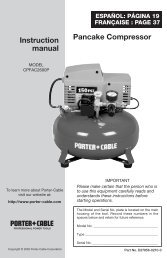 Pancake Compressor Instruction manual - gerald@eberhardt.bz
