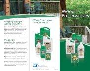 Wood Preservatives Brochure